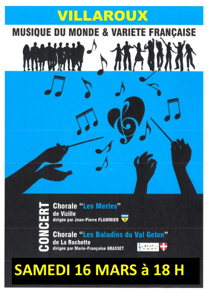 concert villaroux