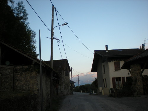 Réseaux électriques Villaroux commune de Savoie