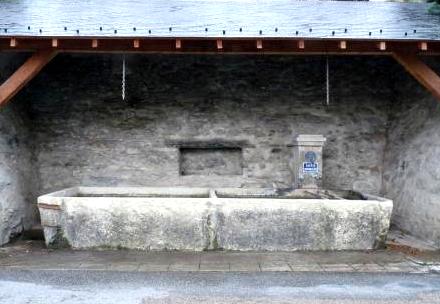 Bassin de l'église