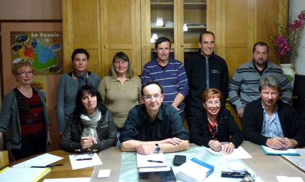 conseil municipal de Villaroux 73