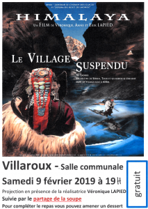affiche film le village suspendu