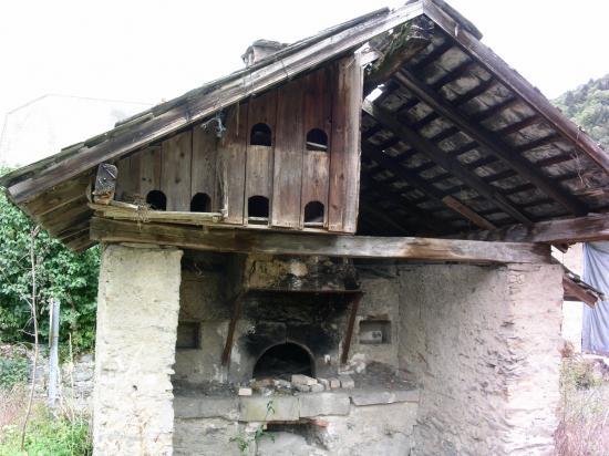 Fournil patrimoine de Villaroux